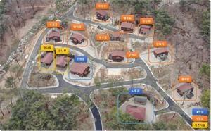 천안 태학산 자연휴양림 '숲속의 집' 11동 추가 조성